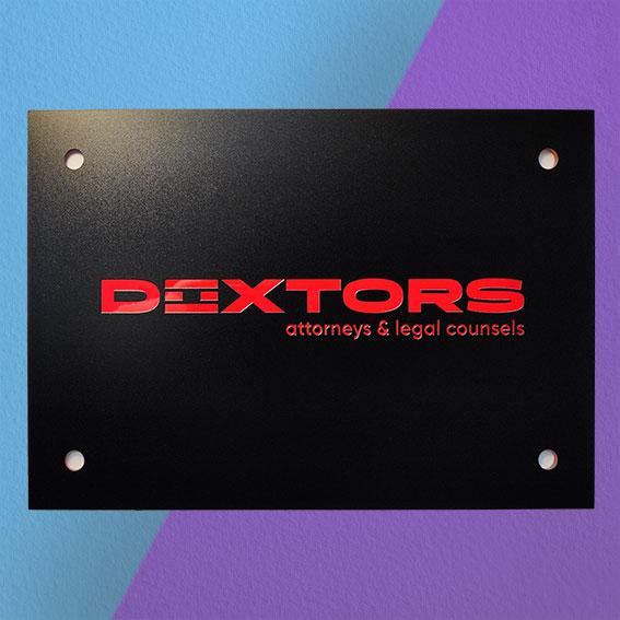 Табличка акриловая<br>Doxrors